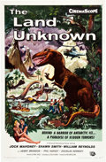 "Movie Posters:Science Fiction, The Land Unknown (Universal International, 1957). One Sheet (27"" X41"").. ..."