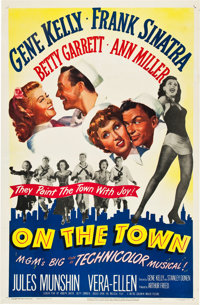 "On the Town (MGM, 1949). One Sheet (27"" X 41"")"