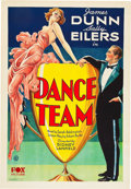 "Movie Posters:Comedy, Dance Team (Fox, 1932). One Sheet (27"" X 41"").. ..."