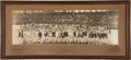 Basketball Collectibles:Photos, 1916 Chicago White Sox Original Panoramic Photograph....