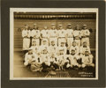 Baseball Collectibles:Photos, 1907 Detroit Tigers Team Cabinet Photograph with Ty Cobb....