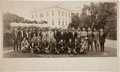Baseball Collectibles:Photos, 1924 Washington Senators at the White House PanoramicPhotograph....