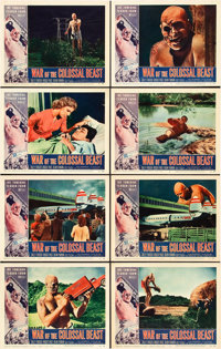 "War of the Colossal Beast (American International, 1958). Lobby Card Set of 8 (11"" X 14""). ... (Total: 8 Items..."
