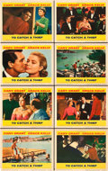 """Movie Posters:Hitchcock, To Catch a Thief (Paramount, 1955). Lobby Card Set of 8 (11"""" X14"""").. ... (Total: 8 Items)"""