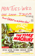 "Movie Posters:Science Fiction, The Time Machine (MGM, 1960). Window Card (14"" X 22"").. ..."