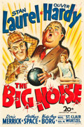 "Movie Posters:Comedy, The Big Noise (20th Century Fox, 1944). One Sheet (27"" X 41"").. ..."