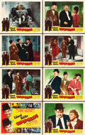 "Movie Posters:Comedy, Block-Heads (Film Classics, R-1947). Lobby Card Set of 8 (11"" X14"").. ... (Total: 8 Items)"