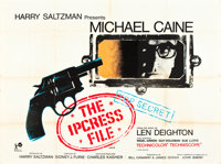 "The Ipcress File (Rank, 1965). British Quad (30"" X 40"")"