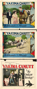 """Movie Posters:Western, Yakima Canutt Lot (Goodwill Production, 1926). Title Lobby Card and Lobby Cards (2) (11"""" X 14"""").. ... (Total: 3 Items)"""
