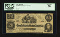Confederate Notes:1862 Issues, T47 $20 1862 XX-2.. ...