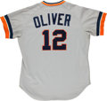 Baseball Collectibles:Uniforms, 1980's Gene Oliver Memorabilia Lot with Multiple Uniforms, Signed Photographs....
