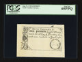 Colonial Notes:South Carolina, South Carolina June 30, 1748 £1 Reprint PCGS Gem New 65PPQ.. ...