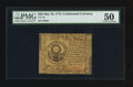 Colonial Notes:Continental Congress Issues, Continental Currency May 10, 1775 $30 PMG About Uncirculated 50.. ...
