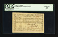 Colonial Notes:South Carolina, South Carolina February 8, 1779 $90 PCGS Extremely Fine 45.. ...