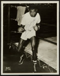 Boxing Collectibles:Autographs, Sugar Ray Robinson Signed Photograph....
