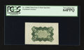 Fractional Currency:Third Issue, Fr. 1238SP 5¢ Third Issue Wide Margin Back PCGS Very Choice New 64PPQ.. ...