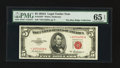 Small Size:Legal Tender Notes, Fr. 1533* $5 1953A Legal Tender Note. PMG Gem Uncirculated 65 EPQ.. ...