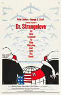 """Movie Posters:Comedy, Dr. Strangelove or: How I Learned to Stop Worrying and Love theBomb (Columbia, 1964). One Sheet (27"""" X 41"""").. ..."""