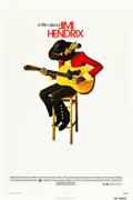 "Movie Posters:Rock and Roll, Jimi Hendrix (Warner Brothers, 1973). One Sheet (27"" X 41"").. ..."