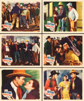 """Movie Posters:Western, Trouble in Texas (Grand National, 1937). Lobby Cards (6) (11"""" X 14"""").. ... (Total: 6 Items)"""