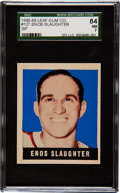 Baseball Cards:Singles (1940-1949), 1948 Leaf Enos Slaughter SP #127 SGC 84 NM 7 - Pop, Three with NoneHigher! ...