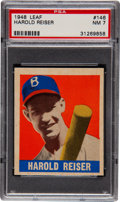 Baseball Cards:Singles (1940-1949), 1948 Leaf Harold Reiser SP #146 PSA NM 7....