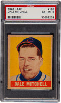 Baseball Cards:Singles (1940-1949), 1948 Leaf Dale Mitchell SP #165 PSA EX-MT 6....