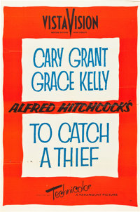 """To Catch a Thief (Paramount, 1955). One Sheet (27"""" X 41"""") Advance"""