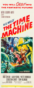 """Movie Posters:Science Fiction, The Time Machine (MGM, 1960). Insert (14"""" X 36"""").. ..."""
