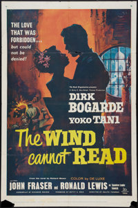 "The Wind Cannot Read & Other Lot (20th Century Fox, 1960). One Sheet (27"" X 41"") & Three Sheet (41&quo..."