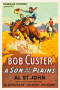 "Movie Posters:Action, Son of the Plains (Syndicate Pictures, 1931). One Sheet (27"" X 41"").. ..."