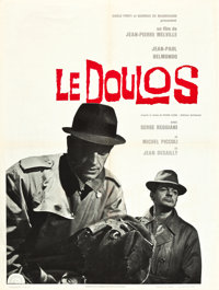 """Le Doulos (Lux, 1963). French Affiche (23.5"""" X 31.5"""")"""