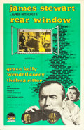 "Movie Posters:Hitchcock, Rear Window (Paramount, R-1959). One Sheet (27"" X 41"").. ..."