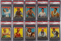 Baseball Cards:Lots, 1933 Goudey Sports Kings PSA-Graded Collection (14)....
