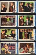 "Movie Posters:Film Noir, Lady in the Lake (MGM, 1947). CGC Graded Lobby Card Set of 8 (11"" X14"").. ... (Total: 8 Items)"