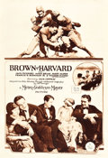 "Movie Posters:Sports, Brown of Harvard (MGM, 1926). Rotogravure One Sheet (27"" X 41"").. ..."