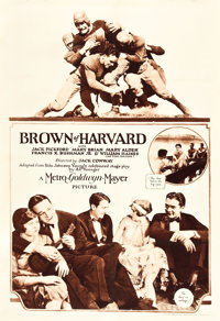 "Brown of Harvard (MGM, 1926). Rotogravure One Sheet (27"" X 41"")"