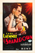 "Movie Posters:Drama, The Shakedown (Universal, 1929). One Sheet (27"" X 41"").. ..."
