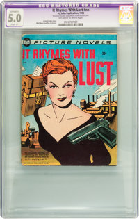 It Rhymes With Lust #nn (St. John, 1950) CGC Apparent VG/FN 5.0 Slight (A) Off-white to white pages