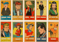 Non-Sport Cards:Sets, 1953 R757-1 Comic Characters Complete Set (50). ...
