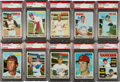 Baseball Cards:Sets, 1970 Topps Baseball High Grade Near Set (690/720). ...