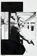 Original Comic Art:Covers, Tim Bradstreet Punisher #9 Cover Original Art (Marvel,2002)....
