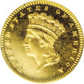 Proof Gold Dollars: , 1872 G$1 PR65 Deep Cameo PCGS. Although generally not given any notoriety within the series, the 1872 gold dollar is a sign...