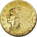 Indian Quarter Eagles: , Indian Quarter Eagle Set. MS62 NGC. This is a complete, uniformly matched set of Indian quarter eagles from 1908 to 1929, in... (Total: 15 Coins)