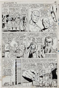 Original Comic Art:Panel Pages, Don Heck and Dick Ayers The Avengers #13 page 13Original Art (Marvel, 1965)....