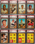 Baseball Cards:Sets, 1962 Topps Baseball Mid To High Grade Complete Set (598) With 7 Variations. ...