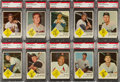 Baseball Cards:Sets, 1963 Fleer Baseball High Grade Complete Set With Checklist (67). ...