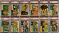 Baseball Cards:Sets, 1956 Topps Baseball Mid To High Grade Complete Set (340)....