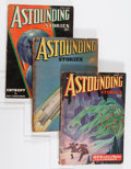 Pulps:Science Fiction, Astounding Stories - H. P. Lovecraft Group (Street & Smith,1936).... (Total: 4 Items)