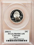 Proof Statehood Quarters, 2006-S 25C Colorado Silver PR69 Deep Cameo PCGS. PCGS Population(4050/406). Numismedia Wsl. Price for ...